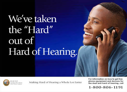 Phone devices for hearing impaired